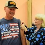 Health Department Holds Flu Clinic