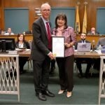 Mayor Alberto G. Santos Announces 15th Annual Tie a Ribbon ™ Campaign to Kick-off Breast Cancer Awareness Month and Recognizes Emma Quintana, Mujeres Valientes (Brave Women) and Susan G. Komen North Jersey®
