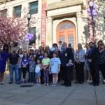 Mayor Alberto G. Santos holds Lupus Awareness Ribbon Cutting Ceremony
