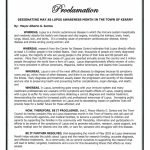 2018 Proclamation Lupus Awareness