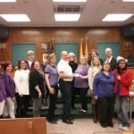 Junior Woman's Club Donates $1,500 to Kearny Fire Department to Equip and Train Firefighters in the Use of NARCAN
