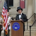 Kearny Celebrates its 150th Anniversary: Opening Ceremony held on Town Hall Steps