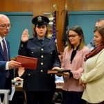 Swearing In Ceremony Held for New Police Officers