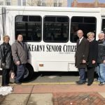Town Of Kearny Receives Delivery Of New Senior Bus