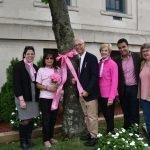 Town of Kearny holds 16th Annual Tie a Ribbon Breast Cancer Awareness Event