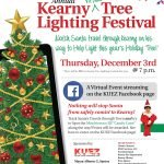 Annual Kearny Tree Lighting Festival will be held virtually this year on Thursday, December 3rd beginning at 7 p.m.
