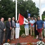 Town of Kearny Holds Peruvian Independence Day Flag Raising Ceremony