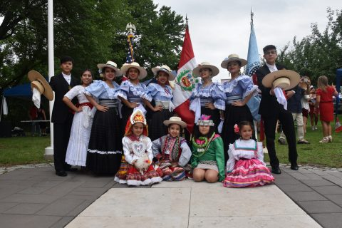 Kearny Celebrates Peruvian Independence Day at Peruvian Heritage Park